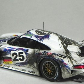 the tamiya 1 24 porsche 911 gt1 model paint solutions. Black Bedroom Furniture Sets. Home Design Ideas