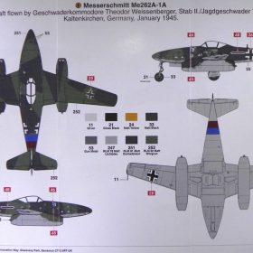 Airfix 1/72 Messerschmitt Me-262 A-1a | Model Paint Solutions