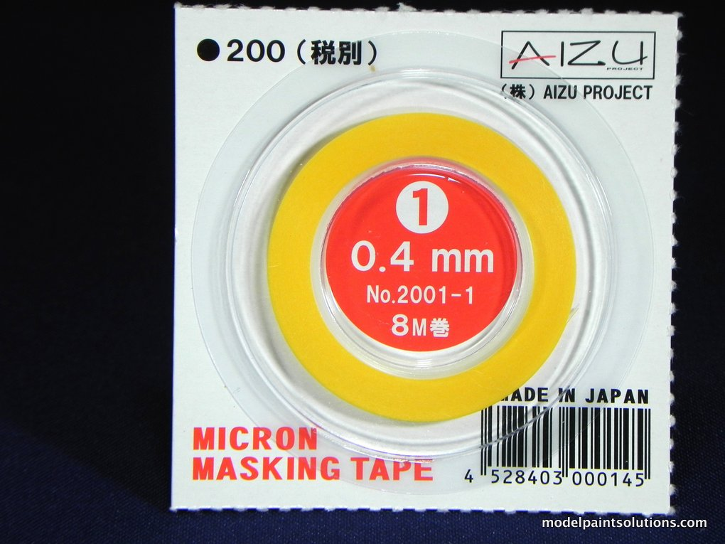 Aizu Project Micron Masking Tape 0.4 mm