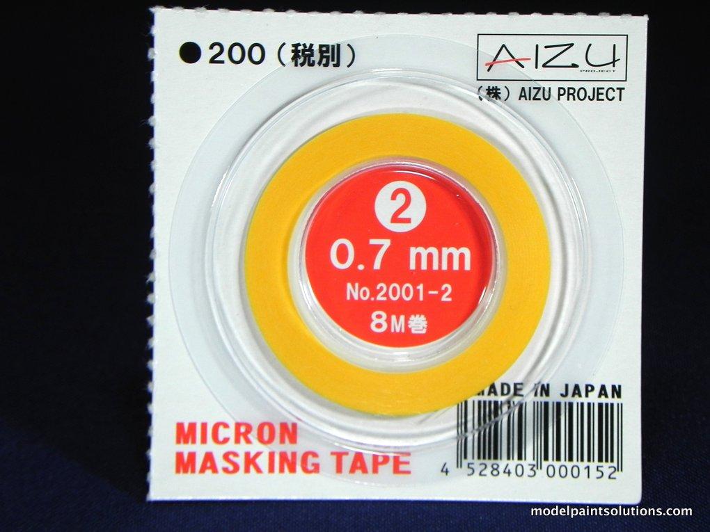 Aizu Project Micron Masking Tape 0.7 mm