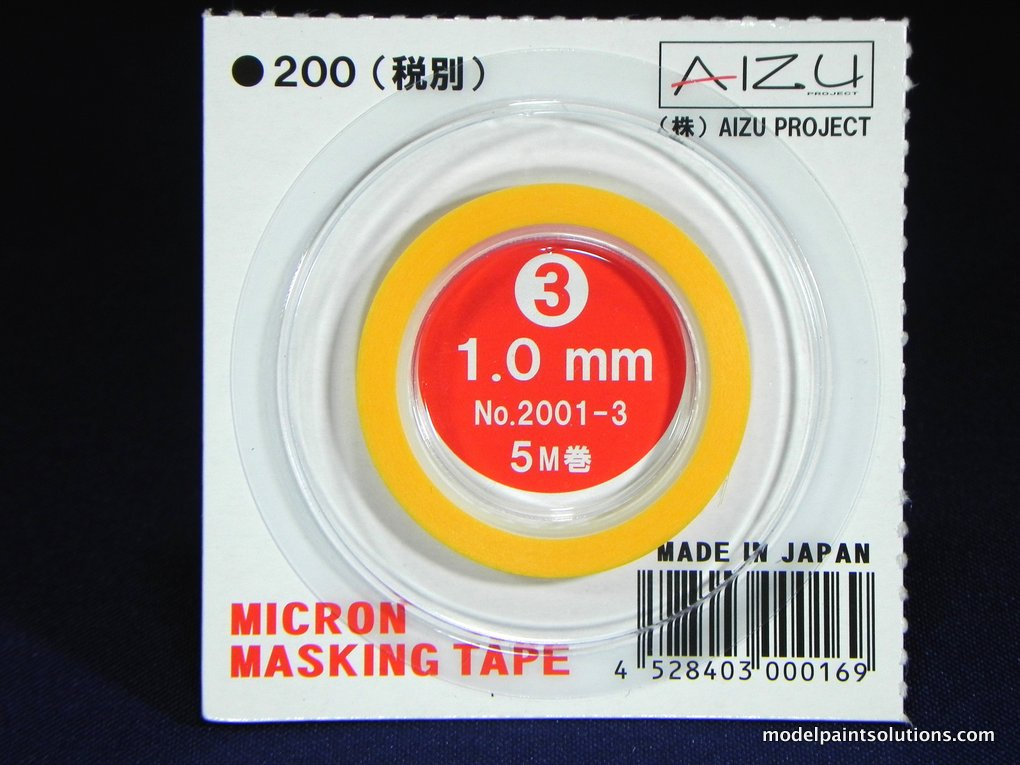 Aizu Project Micron Masking Tape 1.0 mm