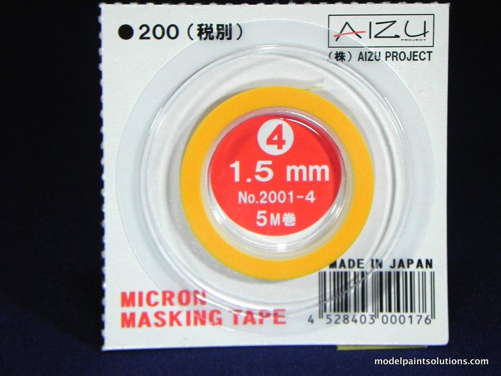 Aizu Project Micron Masking Tape 1.5 mm