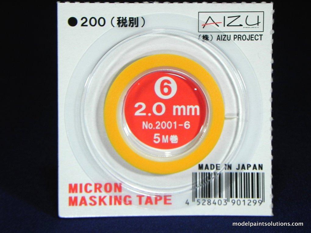 Aizu Project Micron Masking Tape 2.0 mm