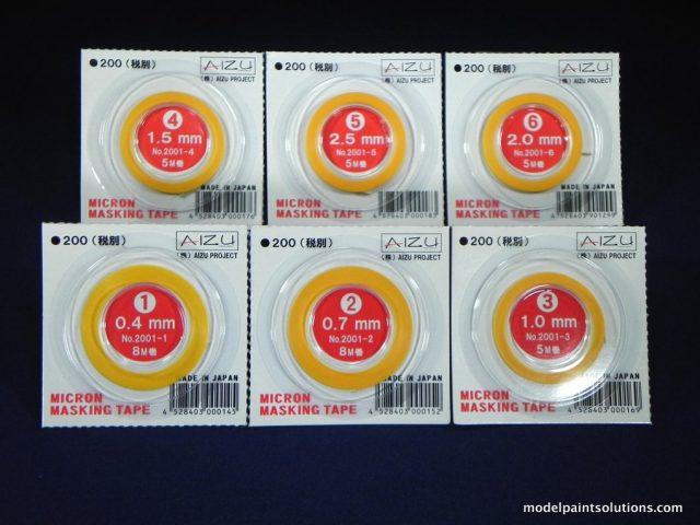 Aizu Project Micron Masking Tape Combo