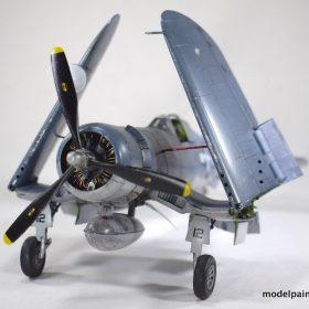The Tamiya F4U-1 Bird Cage Corsair Night Fighter | Model
