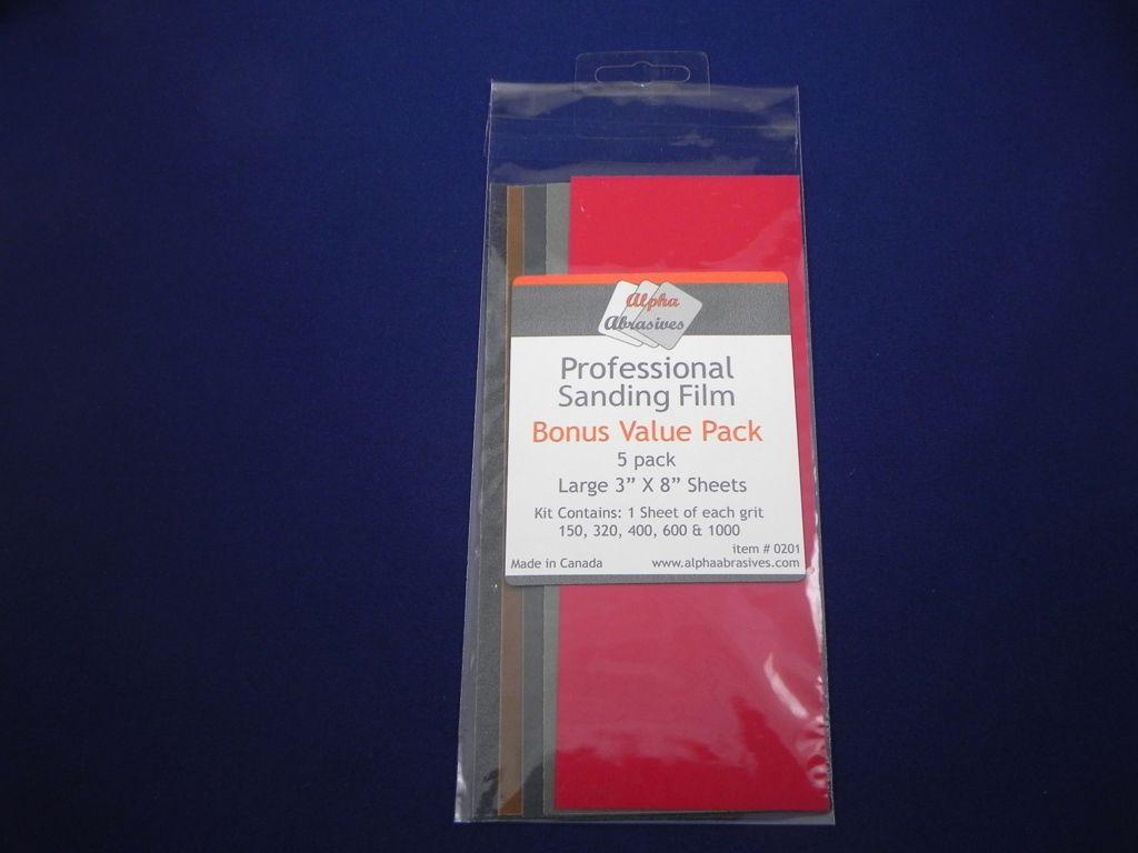 Professional Sanding Film
