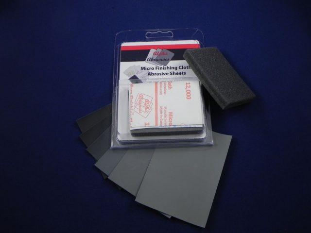 Micro Finishing Cloth Abrasive Sheets