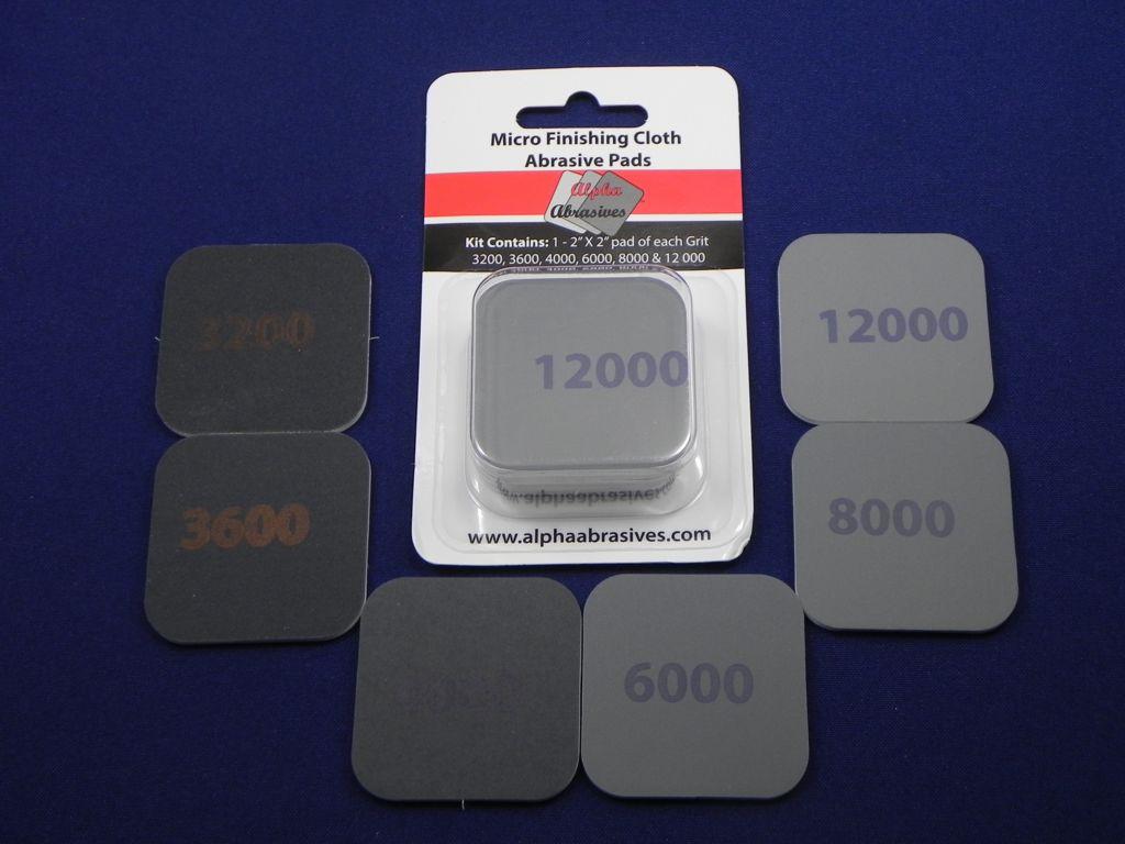 Micro Finishing Cloth Abrasive Pads