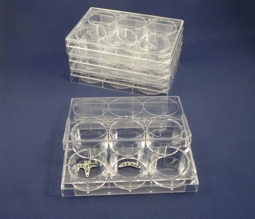 6-Well Stackable Small Parts Trays