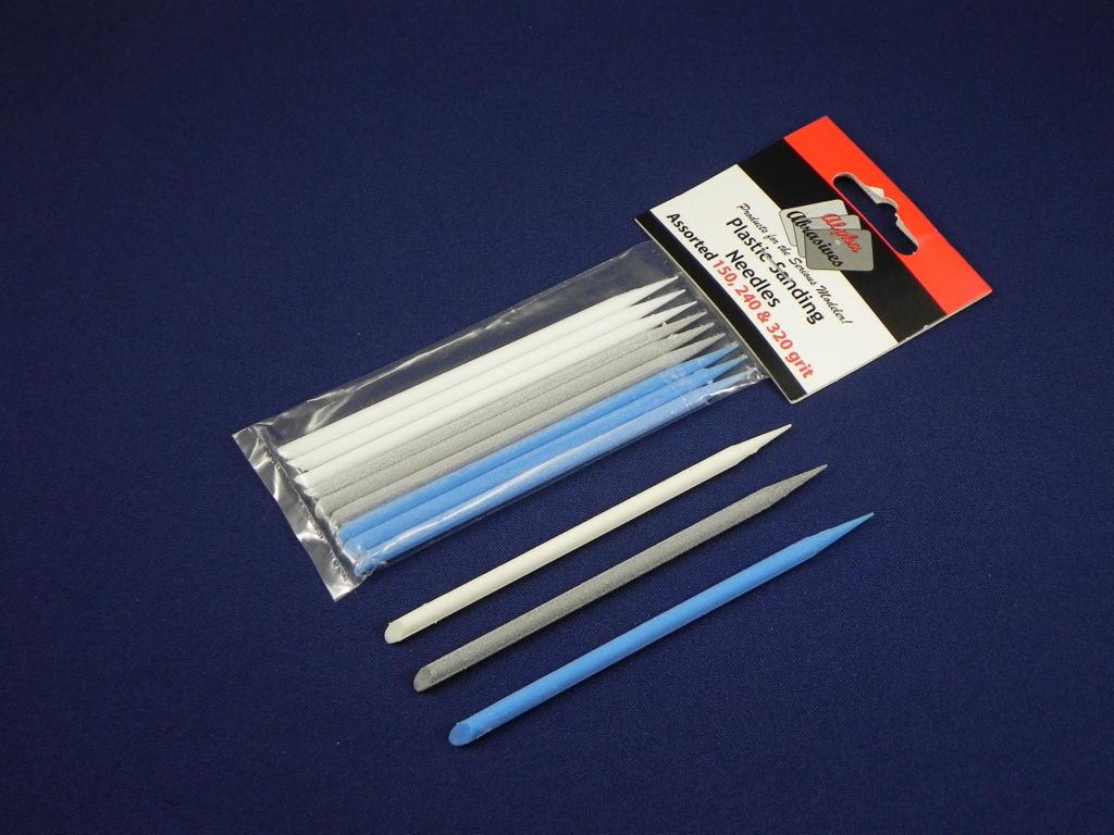 Plastic Sanding Needles - Assorted Grit