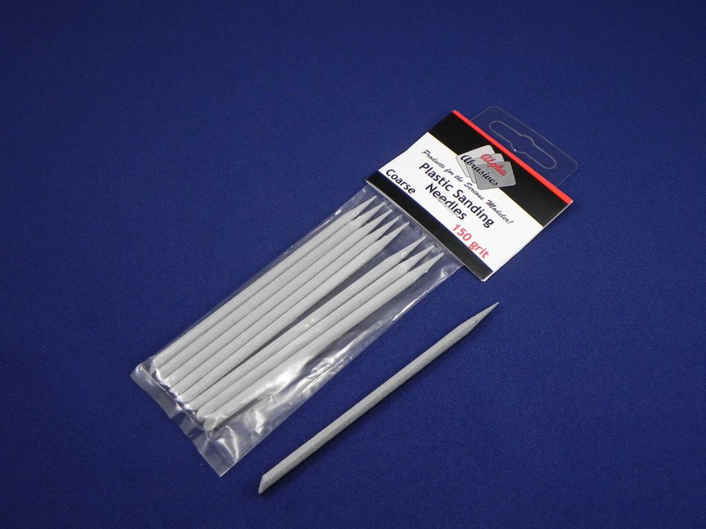 Plastic Sanding Needles - Coarse Grit