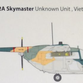 Roden 1/32 USAF Cessna O-2A Skymaster | Model Paint Solutions