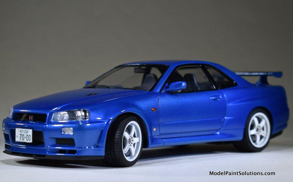 The Tamiya 1/24 Nissan R34 Skyline | Model Paint Solutions