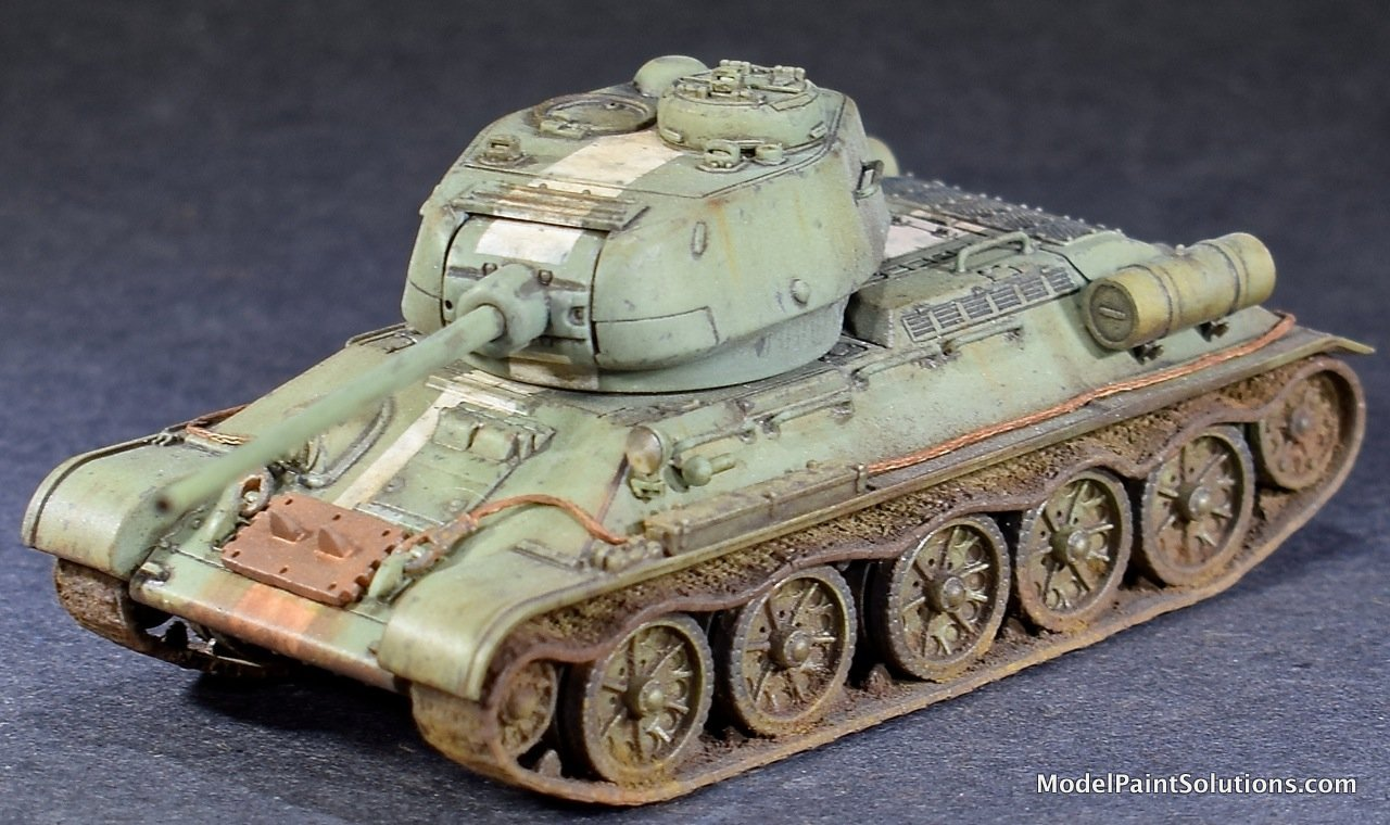 The Dragon 1/72 T-34-85
