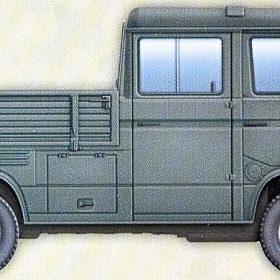 "VW T3 BUNDESWEHR PICK-UP /""DOUBLE CAB./"" KIT TAKOM INTERNATIONAL 1//35 n° 2014"