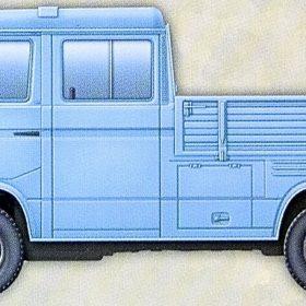 Bundeswehr T3 Transporter Bus 1:35 Takom No.2013 Modellbau